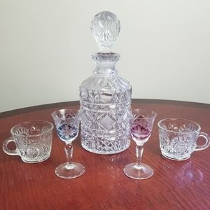 *VINTAGE* 5 Piece Barware Set